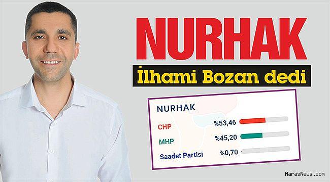 Nurhak İlhami Bozan dedi