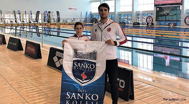SANKO Okulları Öğrencisi Yüzme Milli Takımı Seçmelerinde