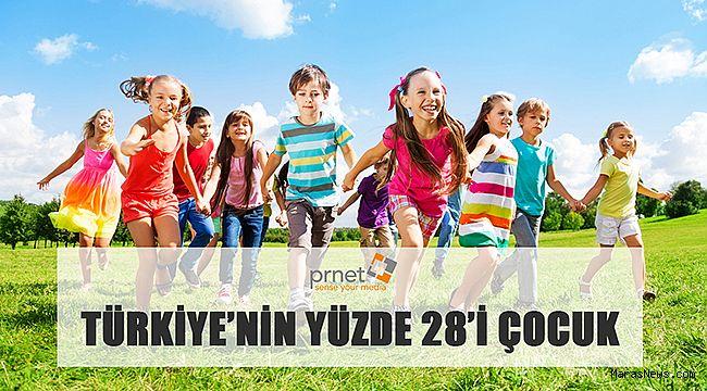 Türkiye'nin yüzde 28'i çocuk