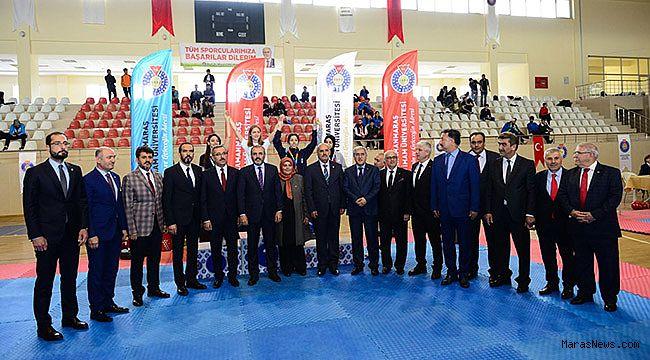 Türkiye Üniversitelerarası Taekwondo Şampiyonası KSÜ Ev Sahipliğinde devam ediyor