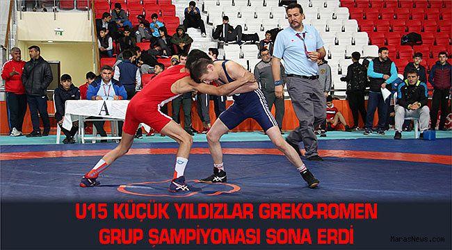 U15 Küçük Yıldızlar Greko-Romen Grup Şampiyonası sona erdi