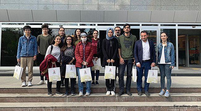 Vehbi Dinçerler Fen Lisesi öğrencilerinden SANKO Üniversitesi'ni ziyaret
