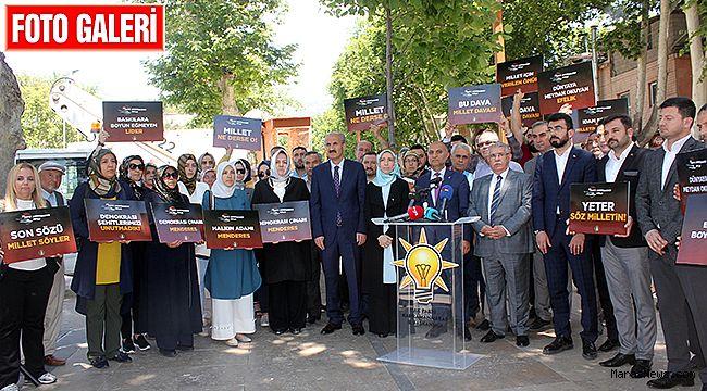 AK Parti Kahramanmaraş Adnan Menderes'i andı