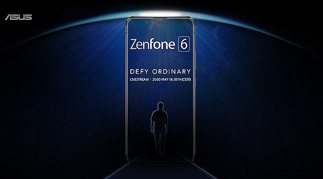 Asus'tan heyecanlandıran Zenfone 6 Paylaşımı
