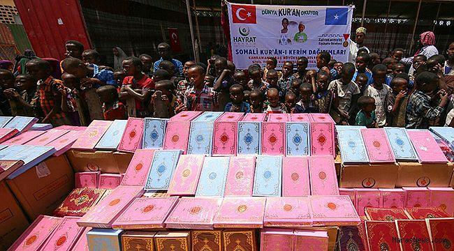 Büyükşehir'den Somali'ye 20 Bin Kur'an