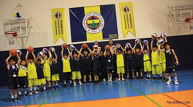 Fenerbahçe Kahramanmaraş'da Basketbol okulu açtı