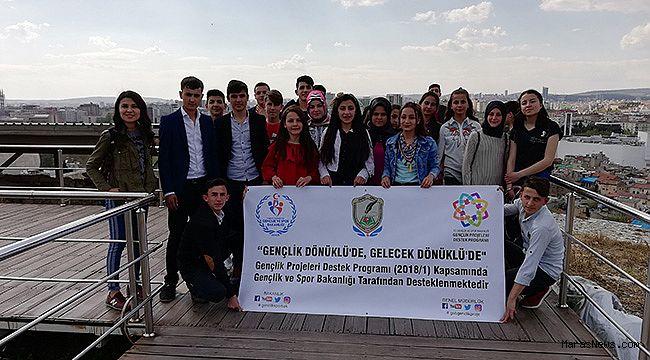 """""""Gençlik Dönüklü'de Gelecek Dönüklü'de"""" nihayete erdi"""
