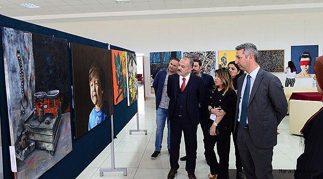 GSF 16. Resim Yarışması Resim Sergisi açılışı gerçekleştirildi