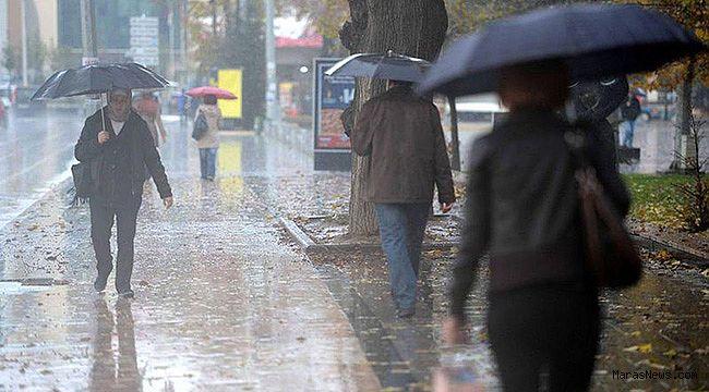 Kahramanmaraş'a yağış uyarısı!