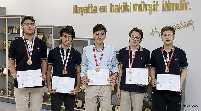 SANKO Okulları Gençler Satranç takımı bölge birincisi oldu