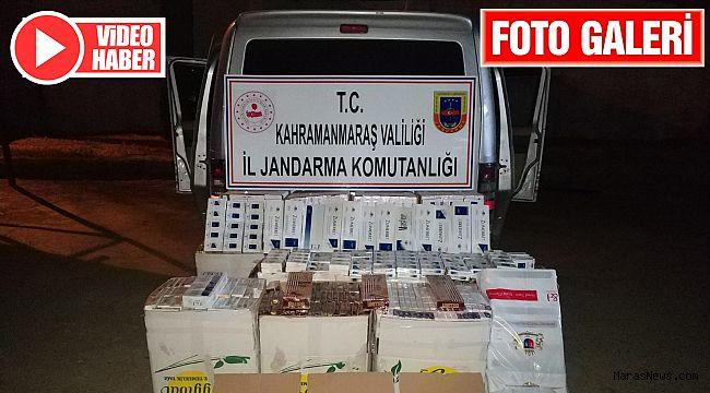 Suriyeli bir kişi 8 bin 270 paket kaçak sigara ile yakalandı