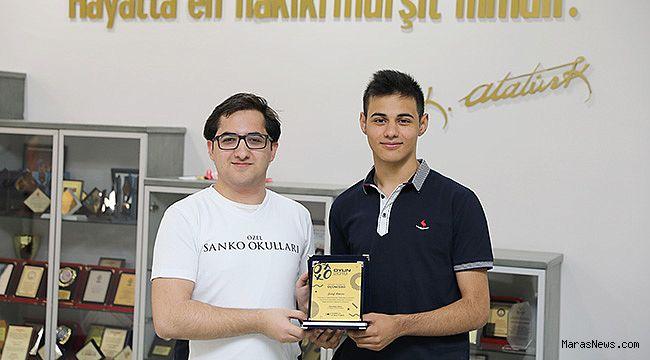 Türkiye 24'üncü Zeka Oyunları Yarışmasında SANKO Okulları üçüncü oldu