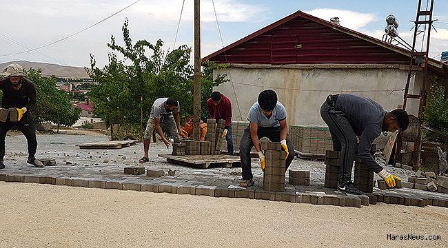 Afşin Belediyesi çalışmalara devam ediyor