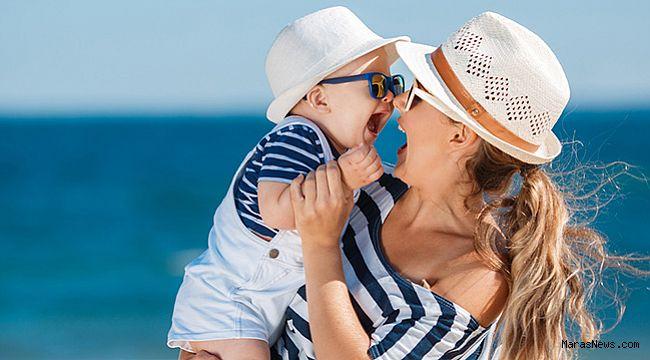 Güneş bebeğinizin cildini yakmasın!