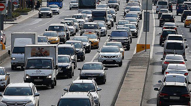 Kahramanmaraş'ta araç sayısı 234 bini geçti