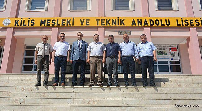 KSÜ, Kilis'te Okul Müdürleri ve Rehber öğretmenlerle buluştu