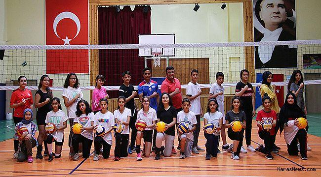 Yaz Spor Okulları eğitimlere başladı