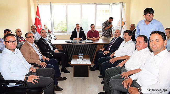AK Parti Andırın İlçe teşkilatına teşekkür
