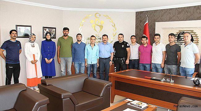 Başarılı Öğrencilerden Kabakcı'ya Ziyaret