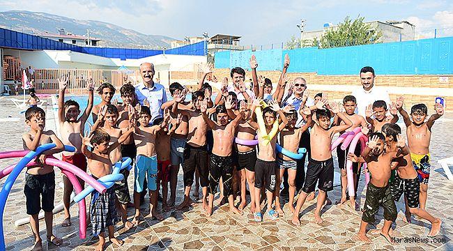 Dulkadiroğlu yüzme havuzu yeni sezona hazır