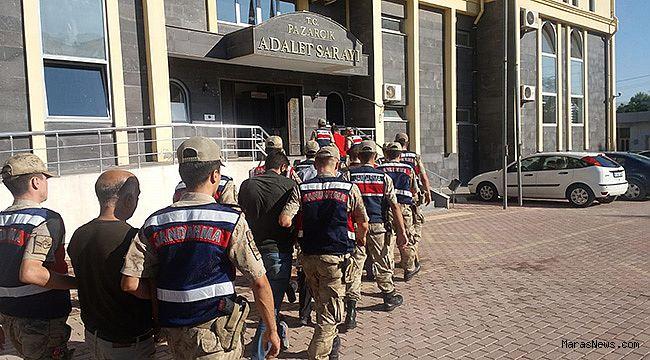 Jandarma'dan esrar operasyonu: 7 gözaltı