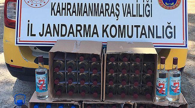 Jandarma'dan kaçak alkol operasyonu!