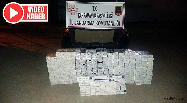 Suriyeli sigara kaçakçısına 51 bin 800 TL ceza!