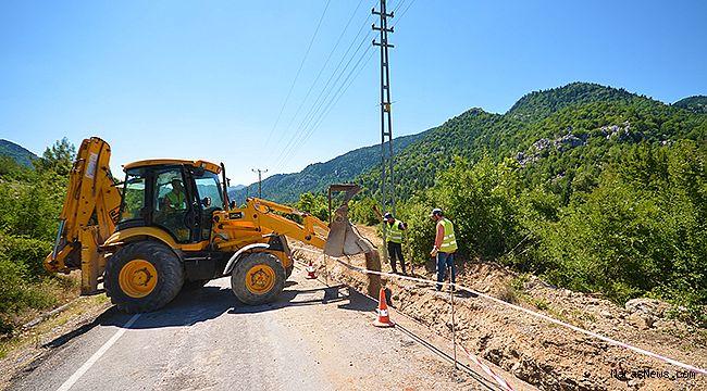 Tatarlı'da içme suyu sorunu çözülüyor
