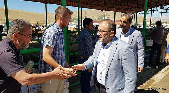 Başkan Güven'den bölgesel hayvan ziyaretine ziyaret
