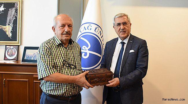 Prof. Dr. Can'dan Çağ Üniversitesi'ne ziyaret