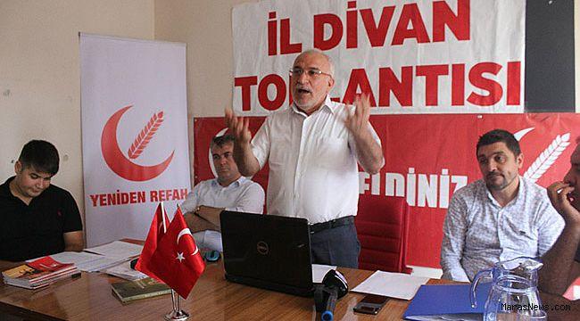 Yeniden Refah Partisi'den Kardeş Şehir Anlaşmasına tepki