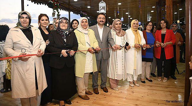 Elbistan'da kadınlara yönelik kafeterya açıldı