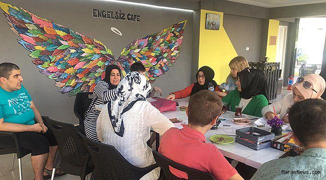 Kahramanmaraş'ta bir ilk 'Engelsiz Yaşam Kafe'