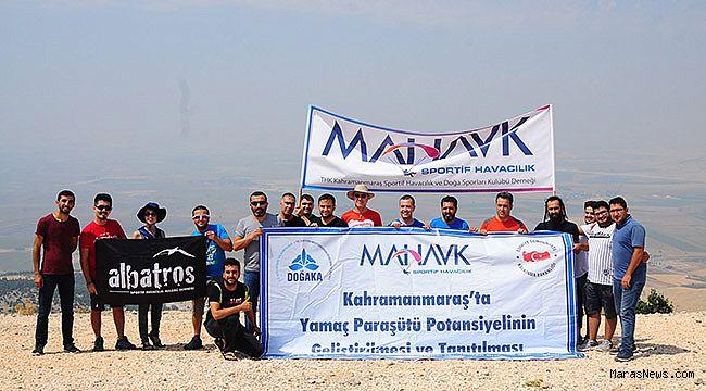 Kahramanmaraş'ta Yamaç Paraşütü Projesi başladı