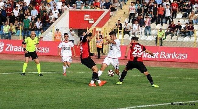 Karagümrük, Kahramanmaraşspor'u yaktı 1-4