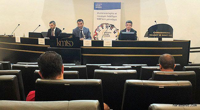KMTSO'da KOSGEB ve Türk EXIMBANK destekleri anlatıldı