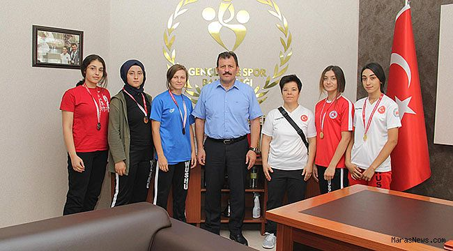 Şampiyonlardan Kabakcı'ya ziyaret