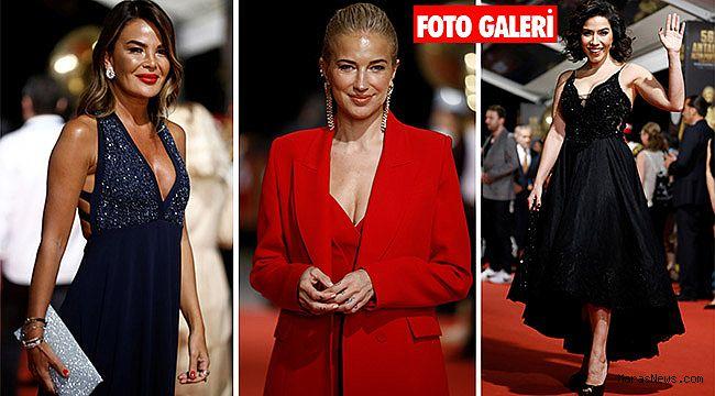 56. Antalya Altın Portakal Film Festivali'nde yıldız geçidi