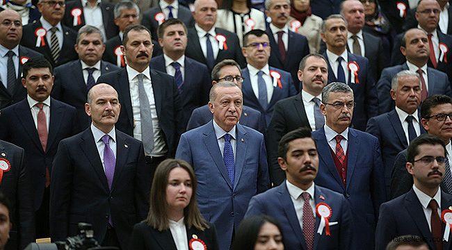 Başkan Erdoğan ile Güvenç Yan Yana