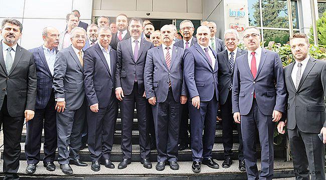 Çevre ve Şehircilik Bakanı Murat Kurum Kahramanmaraş iş dünyası ile buluştu