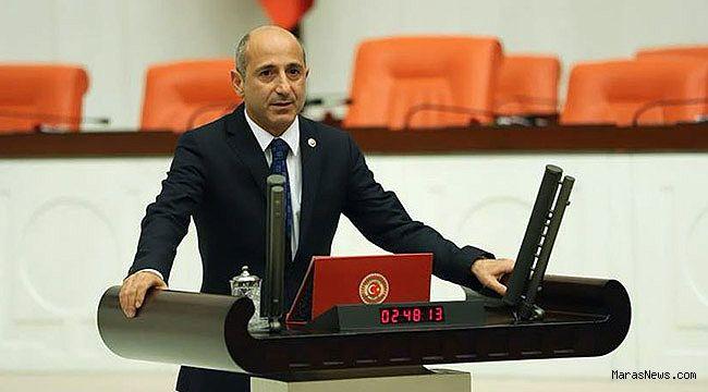 CHP'li Öztunç, Elbistan'ın yol ve su sorununu Meclis'e taşıdı
