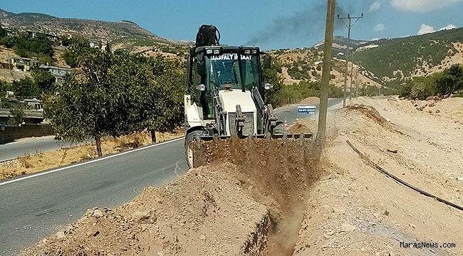 Dereli Mahallesinde içme suyu çalışmaları tamamlandı