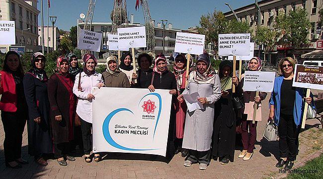 Diyarbakır annelerine kadın desteği