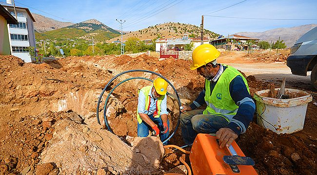 Esenköy'de içme suyu çalışmaları tamamlanıyor