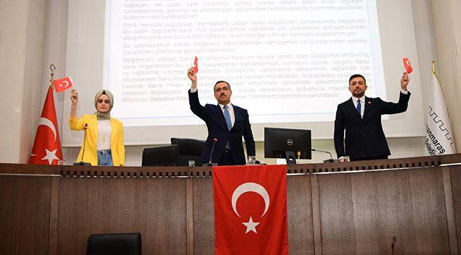 """""""Kahraman Mehmetçiğimizin Yanındayız"""""""