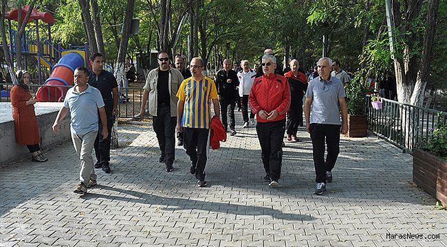 Kahramanmaraş'ta emniyet personeli öğrencilerle bir araya geldi