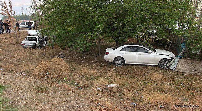 Kahramanmaraş'ta zincirleme trafik kazası: 4 yaralı