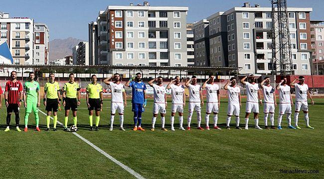 Kahramanmaraşspor Van'dan eliboş dündü