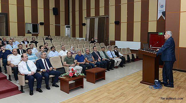 KSÜ'de Sıfır Atık Projesinin toplantısı yapıldı