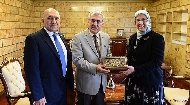 Ramazanoğlu'ndan Rektör Niyazi Can'a ziyaret